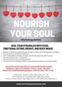 nourish your soul workshop series