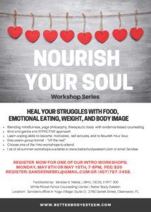 nourish your soul workshop series